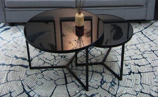 bàn sofa kính